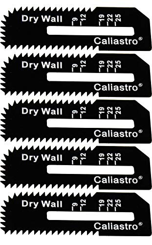 Drywall Cut-Out Saw Blades 5-Pack