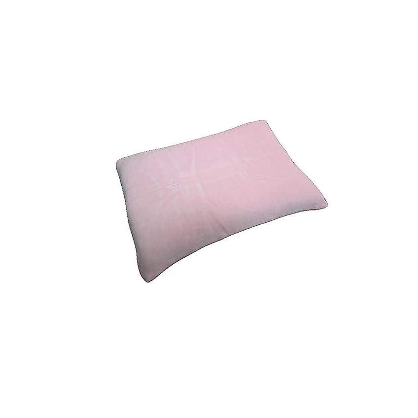 ハンドブックちっちゃいのためEFFECT ふんわり 幸せな 肌触り 綿ベロア 消臭 枕カバー 43x63cm ピロケース 選べる 6カラー ピンク