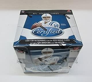 2010 Panini Certified Football Box (Hobby)