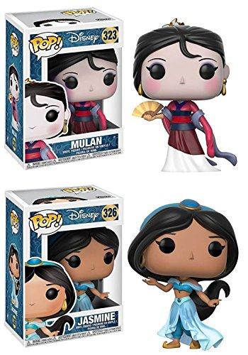 Funko POP! Disney: Mulan + Jasmine