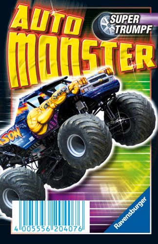 Ravensburger 20407 - Auto Monster, Supertrumpf