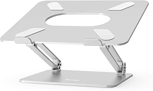 Laptop Stand, Boyata Laptop Holder, Multi-Angle Stand with Heat-Vent to Elevate Laptop, Adjustable Notebook Stand for...