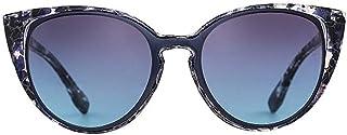 Women's Fashion Polygon Cats Eye Sunglasses, Plastic Glasses Frame Sunglasses (Color : C1)