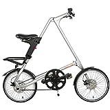 'Bicicletta–Bici pieghevole DAHON––di strida Evo 16tutti i colori e extra, Sand Silver, 16