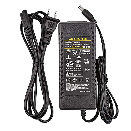 24V 4.5A 108W Universal AC Power Adapter Laptop Charger 5.5x2.5mm,Audio Amplifier Power Supply(24V)