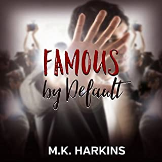 Famous by Default audiobook cover art