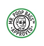 The Original Poop Bags Countdown Rolls USDA Biobased 9x13 Poop Bags Are Individually Numbered ToCount Down From 15 To 1 So You Always Know How Many Are Left On The Roll- 120 Bags