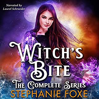 Witch's Bite Box Set: The Complete Series                   By:                                                                                                                                 Stephanie Foxe                               Narrated by:                                                                                                                                 Laurel Schroeder                      Length: 21 hrs and 57 mins     27 ratings     Overall 4.3