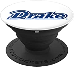 Drake University Collapsible Grip & Stand PPDRU05 - PopSockets Grip and Stand for Phones and Tablets