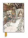 Arthur Rackham: Alice In Wonderland Tea Party (Foiled Blank Journal) (Flame Tree Blank Notebooks)