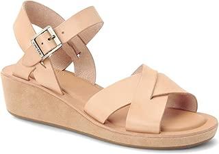KORK-EASE Women's Myrna Buff on Suede Wedge Sandal