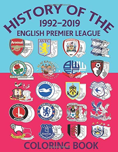 History of the English Premier League: A book for all Soccer fans. It has all the Team logos, information and interesting facts on each Club that have played in the English Premier League since 1992.