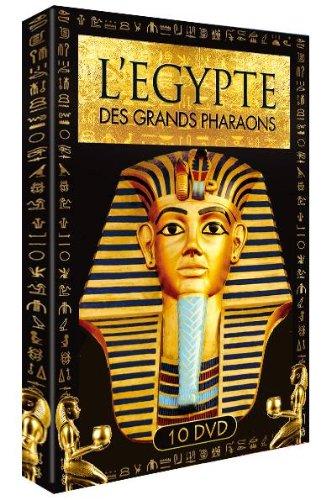Le coffret 10 DVD de la série documentaire L'Égypte des grands pharaons