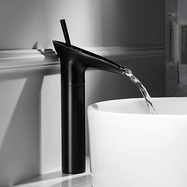 CZOOR Badezimmer antiken europischen und amerikanischen Retro Kupfer Wasserhahn Bad kreative Heimat auf dem Waschbecken Wasserhahn schwarz C237