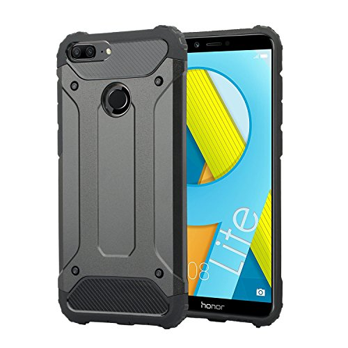 Electro-Weideworld Huawei Honor 9 Lite Cover, Hybrid Dual Layer Armor Soft TPU Bumper PC Rigida Protettiva Case Cover Custodia per Huawei Honor 9 Lite