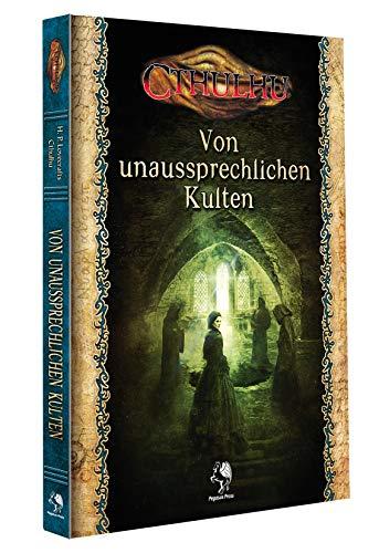 Pegasus Spiele Cthulhu: Von unaussprechlichen Kulten (Hardcover)