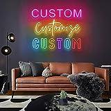 JadeToad Custom Neon Signs for Wall Decor Bedroom Man...
