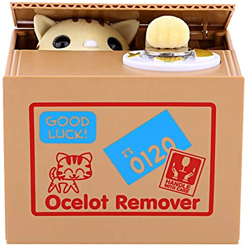 Auped Spardose, elektronisch, automatisch, Panda Sparbank, Geschenk für Kinder