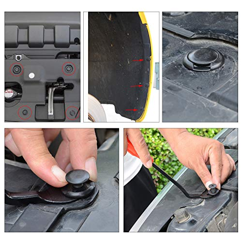 GOOACC 635Pcs Car Push Retainer Clips