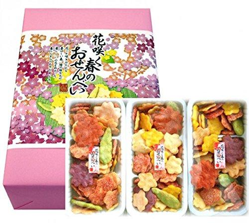 花咲く春のおせんべい×6箱セット