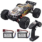 Blomiky 1/16 Scale 2847 Brushless 52KMH+ High Speed RC Truck for Kids and Adults Q903 Orange