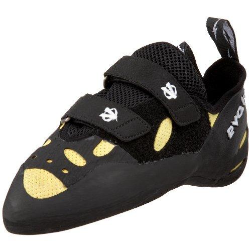 Evolv Men's Optimus Prime Climbing Shoe,Yellow/Black,4.5 M US