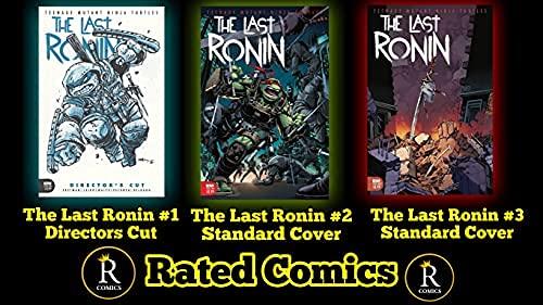 TMNT The Last Ronin Comic Set 1-3 W/ Rated Comics Backer