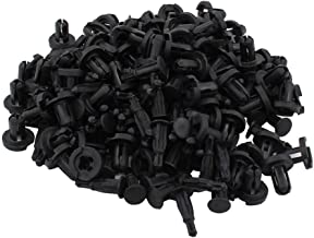 NewYall Pack of 100 10mm Nylon Front & Rear Bumper Type Retainers Fastener Clips