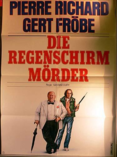 Die Regenschirm Mörder - Filmplakat A1 84x60cm gefaltet-G1