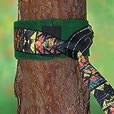 ALPIDEX Slackline Set Shabby Look 15 m + Baumschutz und Ratschenschutz, geeignet für Kinder, Anfänger und Fortgeschrittene - 5