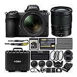Nikon Z6 Mirrorless Camera with Nikkor 24-70mm Lens, Nikon 64GB XQD Card and Accessory Bundle (6 Items)