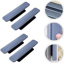 4 stks kast kast handgrepen lade deur knoppen handgrepen (grijs) -grijs, 11x2.2cm