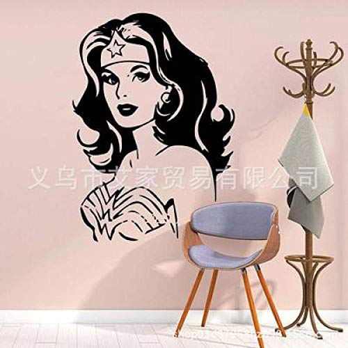 JXLLCD haarband ster patroon muursticker behang papier slaapkamer 43x60cm