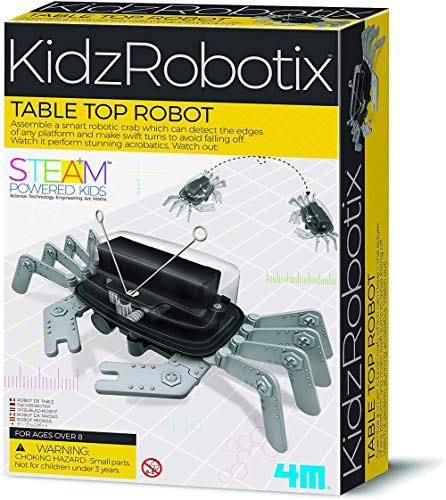 4M 5576 Table Top Robot - DIY Robotics Stem Toys, Engineering Edge...