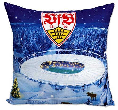 VfB Stuttgart Kissen Stadion im Winter