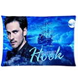 Custom Once Upon A Time Captain Hook Rectangle Pillow Cases 20