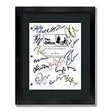 The Office TV Cast Autographed Signed Reprint 8.5x11 UNFRAMED Script - Dunder Mifflin, Michael Scott, Jim Halpert, Pam Beesly, Dwight Shrute, Kelly Kapoor