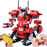 FLY2SKY RC Robot Toy Stem Projects for Kids Ages 8-12 Robot Building Kits with Remote APP Control Building Toys STEM Robot Toys Kids 8 9 10 11 12 Year Old Boys and Girls 405+ PCS