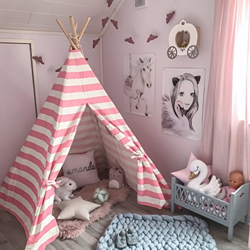 Tiny Land Kids Teepee Tent for...