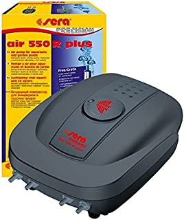Sera Air 550 R Plus Precision Air Pump For Aquariums 145 Gallon / Hour Fish Tank Invertebrates Shrimps