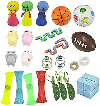 Hayysy 24-Pack Relief Hand Sensory Fidget Toys Set
