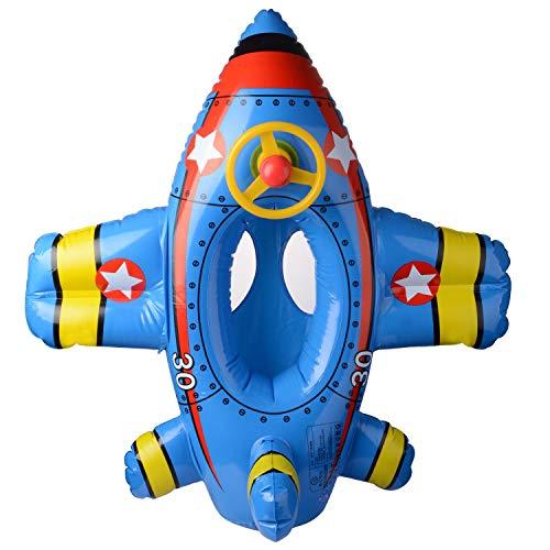 Baby baby zwembad drijvende bal opblaasbare vliegtuig zwemmen ring met stoel peuter zwemmen drijvende bed boot zwembad speelgoed stoel