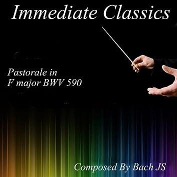 Bach: Pastorale in F Major, BWV 590