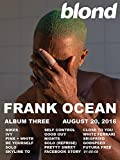 Frank Ocean Blond Art Stoffposter, Wanddekoration, HD-Druck, 61 x 91,4 cm