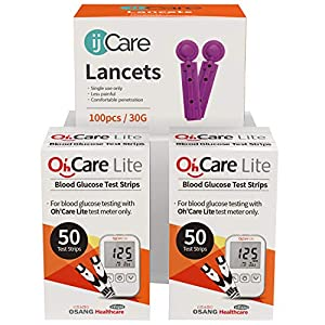 buy  ijCare (100 Strips) Bundle n Save Pack for ... Blood Test Strips
