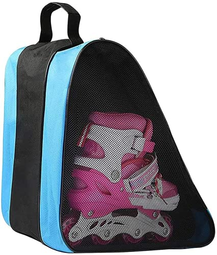 Borsa per pattini a rotelle per bambini, borsa per pattini da ghiaccio in tessuto Oxford...