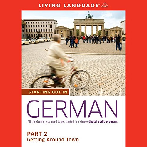 Starting Out in German, Part 2 audiobook cover art