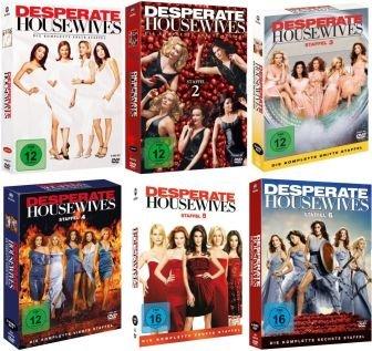 Desperate Housewives - Staffel 1+2+3+4+5+6 (37 DVDs)