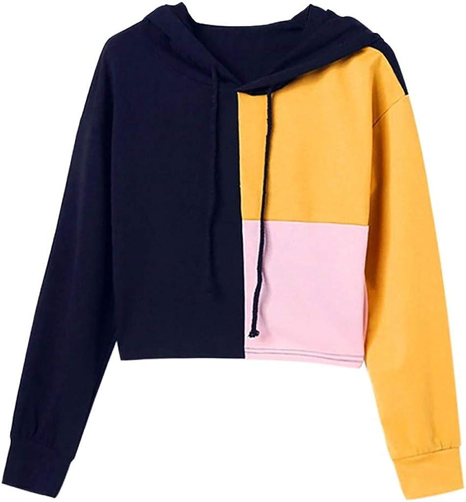 Girls' Hoodie, Misaky Fall Casual Slim Fit Stripes Long Sleeve Pullover Hooded Sweatshirt Tops Blouse