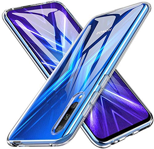 tomaxx Schutzhülle für Huawei P Smart Pro 2020 Hülle Hülle Silikon Durchsichtig transparent kompatibel mit Huawei P Smart Pro (Honor 9X Pro)